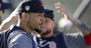 Boston's Mookie Betts says he is been blessed, so he should give it back to the world