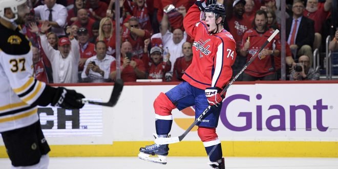 Capitals defeat Bruins to begin title defense