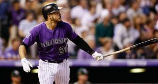 Colorado Rockies's Playoff Run for 4 games was a feeble display