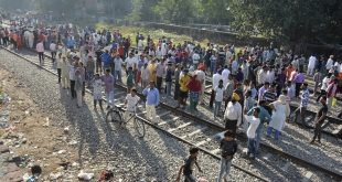 Indians protest after dozens killed in train accident