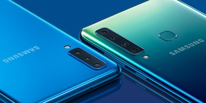 Samsung unveils the world's first smartphone with a quad lens rear camera, the Galaxy A9