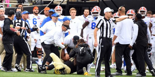 Vanderbilt, Florida coaches get into a verbal spat after hit