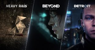 Detroit: Become Human, Beyond: Two Souls, and Heavy Rain