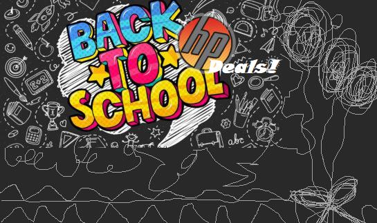 HP Back to School Sale